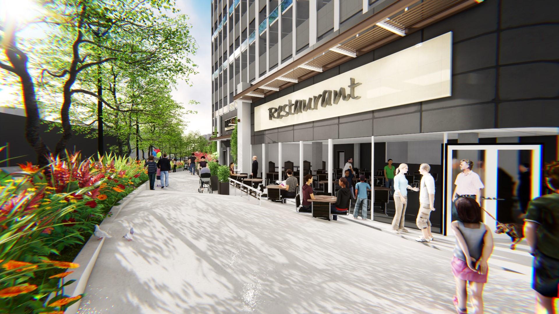 Retail Streetscape