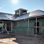 Habersham Airport Terminal - Exterior Construction